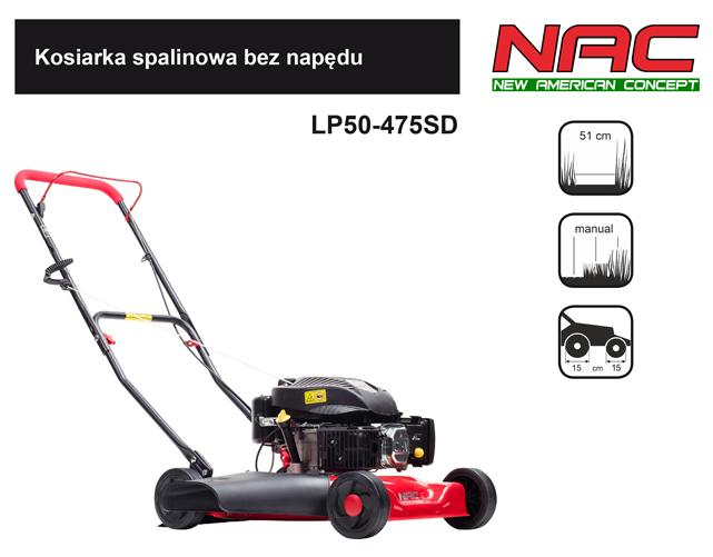 NAC Kosiarka spalinowa LP50-475SD